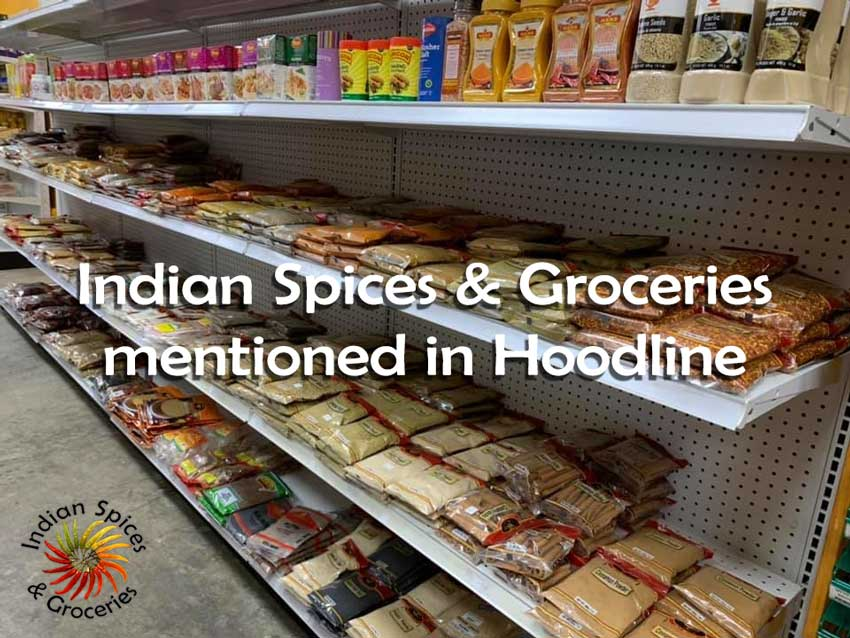 Indian Spices & Groceries in Hoodline Article