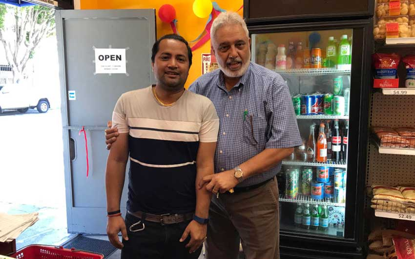 Surinder and Dhruba - Indian Grocery Store