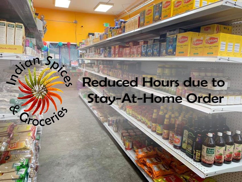 Indian Spices and Groceries - Reduced Hours